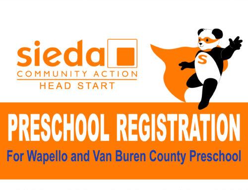 Head Start Registration for Wapello & Van Buren