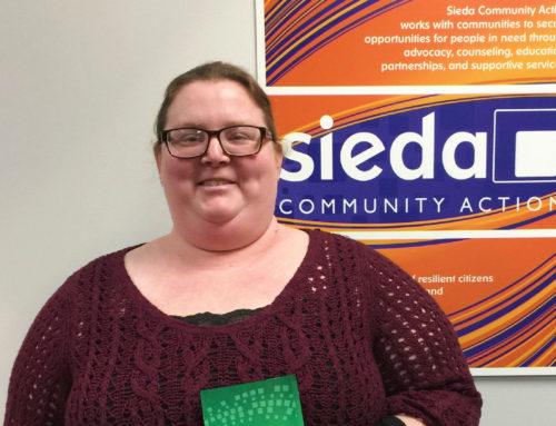Sieda Head Start has a Superhero Volunteer