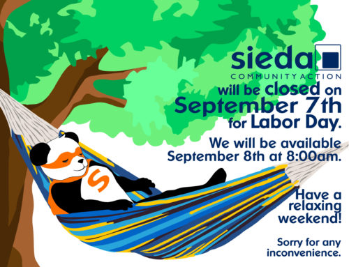 Sieda Community Action Closed for Labor Day