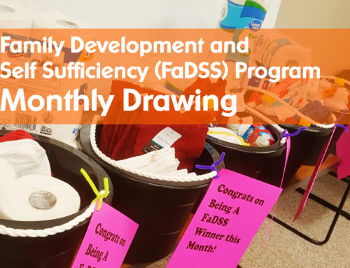 Sieda FaDSS has Started a Monthly Drawing for Participants
