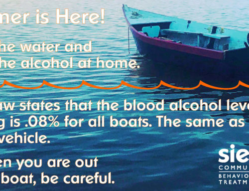 Safe Summer Boating from Sieda Behavioral Health & Treatment Services