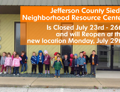 Sieda Jefferson County Center Will Be Closed to Make Move to New Location