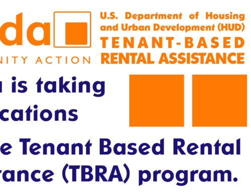 Tenant Based Rental Assistance (TBRA) Available for Sieda's Area