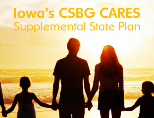Public Review of the Iowa's CSBG CARES Supplemental State Plan