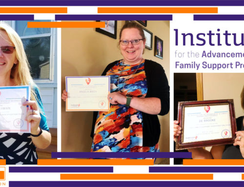Sieda Staff Receive the National Family Support Certification
