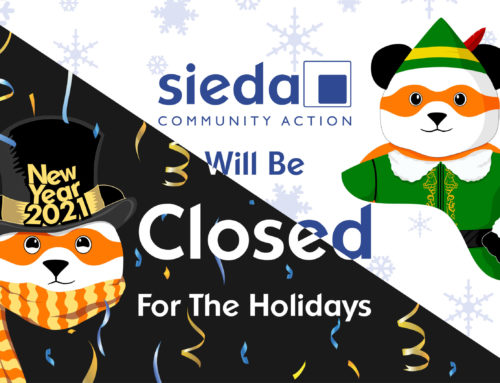 Sieda Community Action Closed for Holidays
