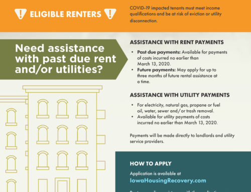 Iowa Rent and Utility Assistance Program – Landlord and Renter Info