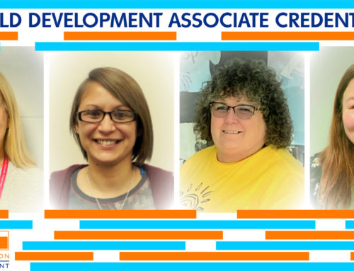 Four Staff Received the Child Development Associate Credential