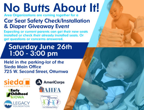 """""""No Butts About It!"""" Car Seat and Diaper Event"""