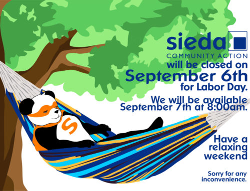 Sieda Offices are Closed for Labor Day