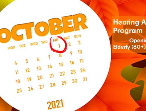 LIHEAP for Elderly or Disabled Begins October 1st